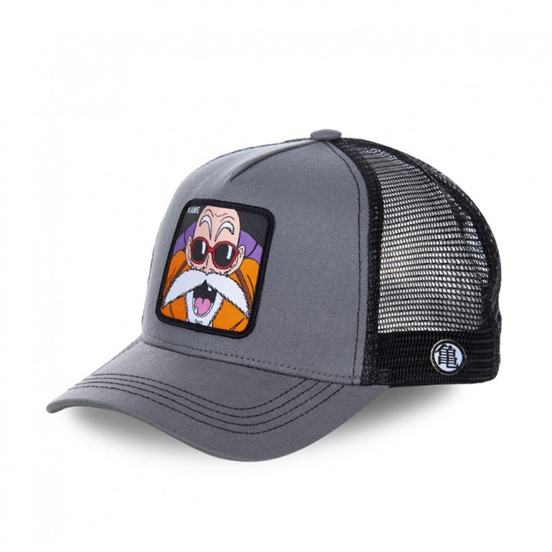 New Summer Dragon Ball Mesh Hat Anime Majin Buu KAME   Baseball     Cap   High Quality Curved Brim Snapback   Cap   Gorras Casquette