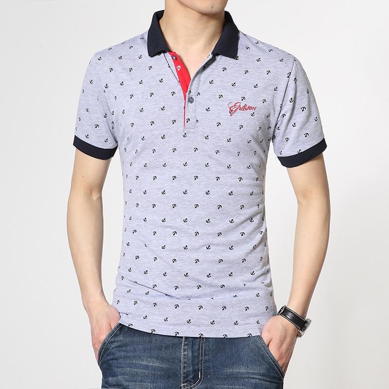 2019 Brand Fashion   Polo   Shirts Short Sleeve Men Summer Cotton Breathable Tops Tee ASIAN SIZE M-5XL 6XL