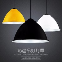 Slope lamps Pendant Lights Colorful Aluminum Restaurant Bar Coffee Dining Room LED Hanging Light Fixture