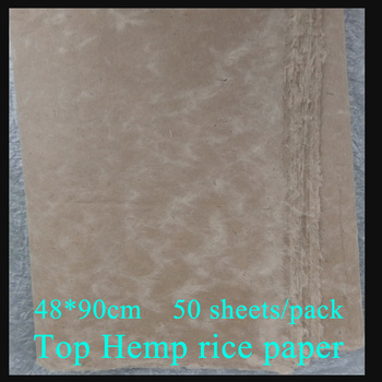 1109483d0 Cocido mitad-Papel de arroz handecrafted práctica de la pintura china papel  de Xuan Mao bianzhi