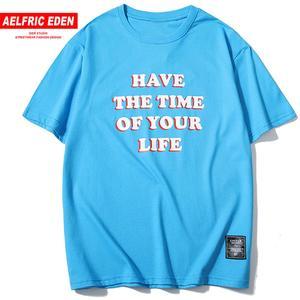 Женские футболки с коротким рукавом Aelfric Eden, повседневные хлопковые уличные футболки в стиле Харадзюку в стиле хип-хоп, лето 2019
