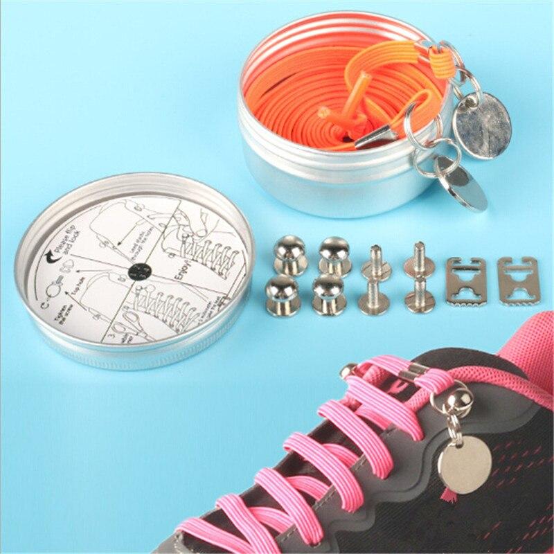1 Paar Mode Schuh Spitze Eine Hand Keine Krawatte Faulheit Schnürsenkel Schnürsenkel Elastische Bequem Schuh Zubehör Für Männer Frauen