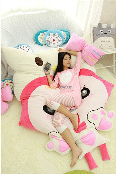 Fancytrader 230cm X 165cm Huge Giant Pink ALI Fox Bed Carpet Sofa Tatami, Free Shipping FT90360 (2)