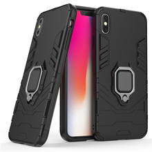 Hiding ring holder Heavy Duty Protection case for iphone X kickstand phone cases For Apple iPhone XR XS MAX 7 8 plus 6 6s