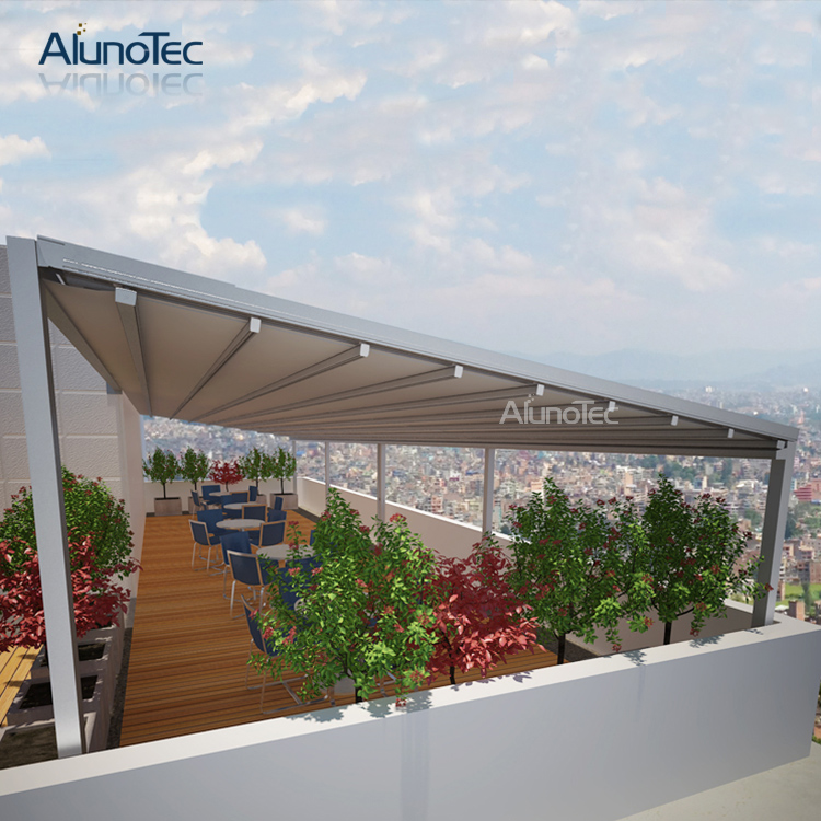 Modern Design Remote Control Electric Outdoor Aluminum Retractable Awnings 3m Width X 3m Projection X 3m Height Retractable Awnings Aluminium Awningsoutdoor Retractable Awnings Aliexpress
