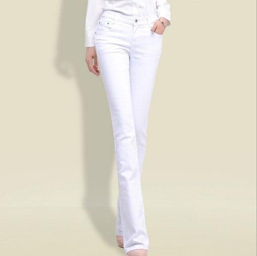 2017 Spring Autumn Flare font b Jeans b font font b Women b font OL Style