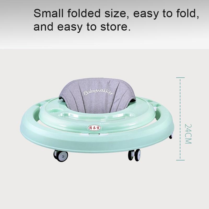 Nombre. A bébé marcheur poussette marche bébé premiers pas voiture pliante bambin chariot assis sur pied vélo enfants tricycle pour enfants - 3