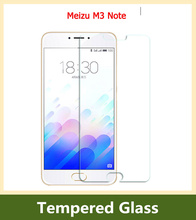 9H 0.26mm Front Quality Explosion-proof LCD Tempered Glass Film for Meizu M3 Note LCD Screen Protector pelicula de vidro