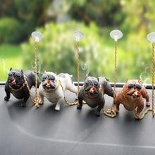 CHIZIYO Auto Decorazione Cane Personalità Creativa Interni Auto di Modo Cane di Simulazione Bambola Accessori Ornamenti Giocattoli Regalo