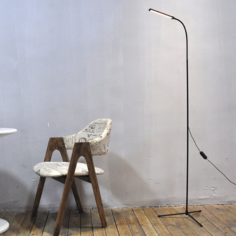 modern simple font floor standing lamp bedside mighty bright led lamps for living room