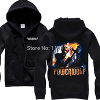 Free Shipping Powerwolf Death Metal Commemorative Hoodie