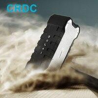 CRDC 100% Güçlü Bluetooth Hoparlör 16 Saat Oynarken Çift 5 W Stereo 2 Kanal Su Geçirmez IP65 MP3 için Açık Hoparlör/4 Müzik