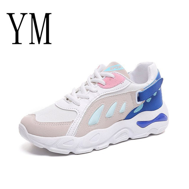 2018 Flock New High Heel Lady Casual black/Red Women Sneakers Leisure Platform Shoes Breathable Height Increasing Shoes 59