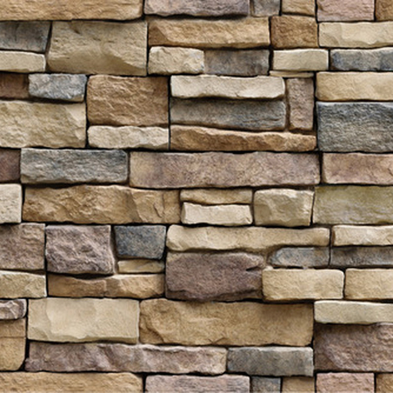 New 3D Decorative Wall Decals Brick Stone Rustic Self-adhesive Wall Sticker Home Decor Wallpaper Roll For Bedroom Kitchen