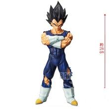 Banpresto DRAGON Ball Z Grandista Resolution Nero Vegeta Action Figure PVC model Figurals toy