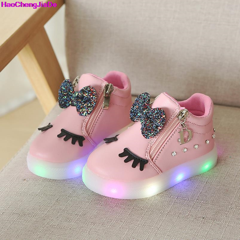 Mother & Kids 2018 New Cute Sports Lightweight Patchwork Childrens Shoes Led Cute Baby Boys And Girls Shoes Cute Childrens Sports Shoes Orders Are Welcome.