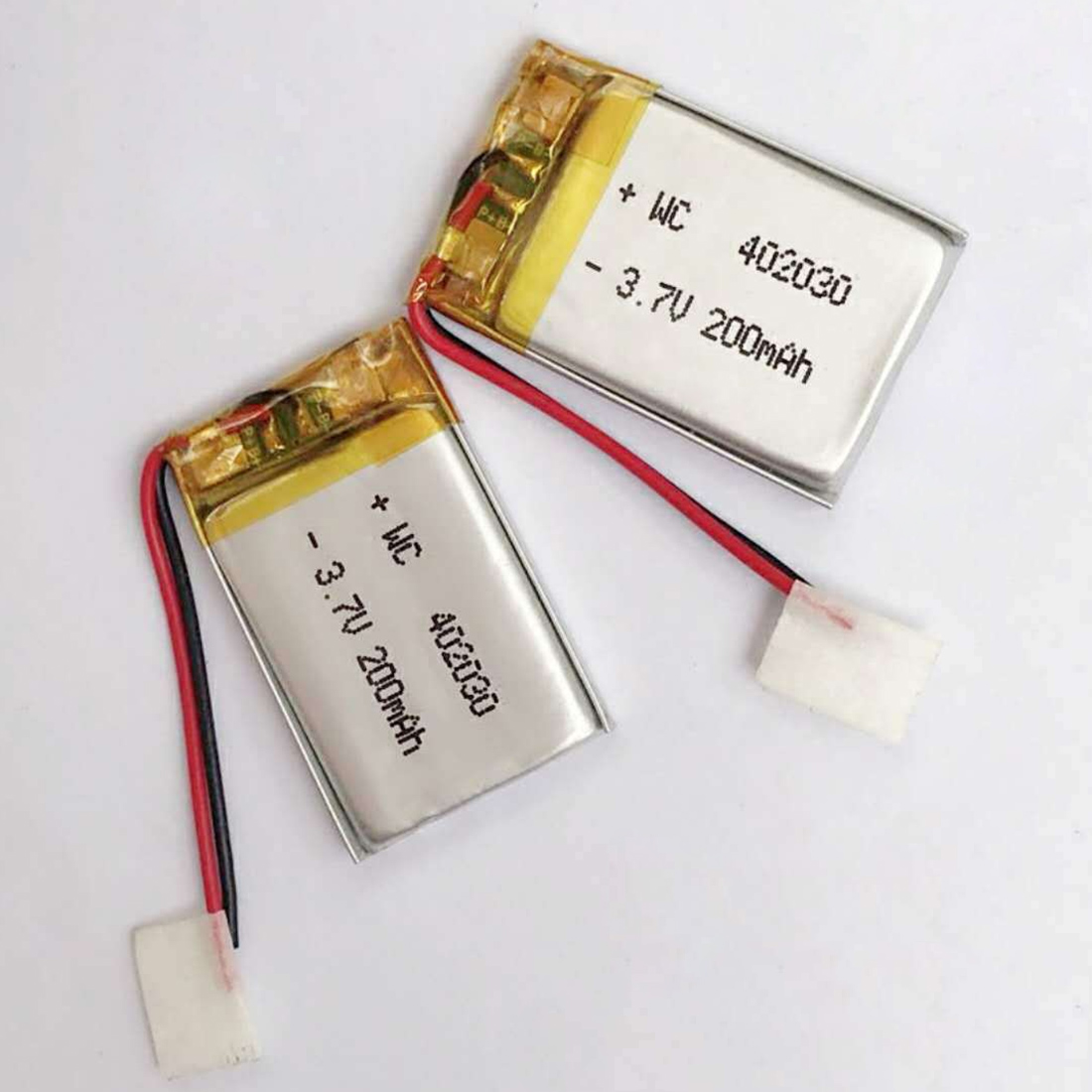 3.7V 402030 200mAh Polymer Lithium Battery Li-po Rechargeable Batteries Cell For MP3 MP4 Bluetooth Headset GPS