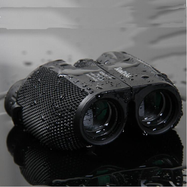 Free shipping 10X25 HD All-optical green film waterproof binoculars telescope with Bak4 Prism for travel binoculars drop selling