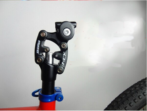 SR Suntour NCX Bike Suspension Travel Seatpost 350mm * 27.2/28.6/30.0/30.1/30.4/30.8/31.6/33.9 Bicycle Seat Post w/ Case-in Bicycle Seat Post from Sports & Entertainment    2