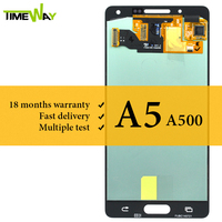 For Samsung A5 2015 A500 LCD Screen AMOLED With Touch Screen No Dead Pixel Mobile Phone LCD For Samsung A5 2015 A500 LCD