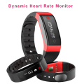 Brand Smart Bracelet Dynamic Heart Rate Monitor Fitness Smart Wristband for ios android Call ID Display  Message Push Selfie
