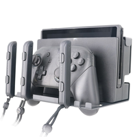 Hot Sale Aluminum Wall Mount Stand Holder Bracket for Nintendo Nintend Switch Console Joy con Joy con Pro Controllers Accessory