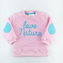Baby boys hoodies clothes Girls sweatshirts Autumn Winter pullover cotton letter long sleeve pink hoodie tracksuit