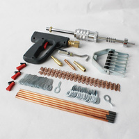 auto car body works dent repair hand tools bodyworks collision damage frame straightening dent removal stud welder hunter gun