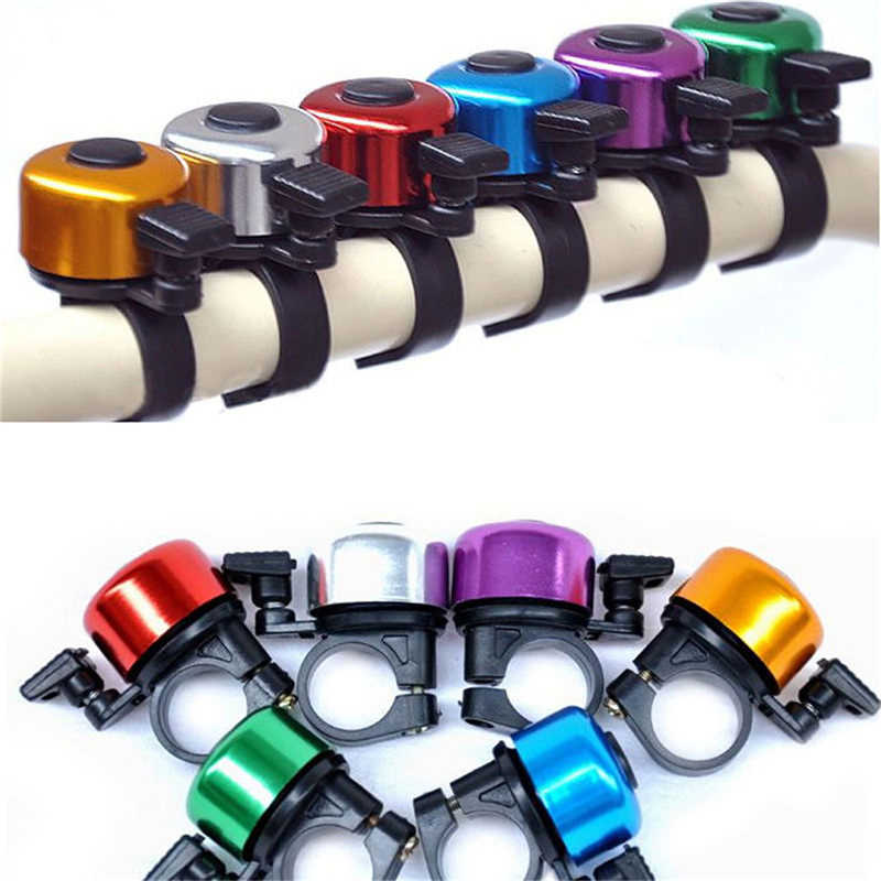 New  Loud Sound Bicycle Bell Aluminum Alloy Handlebar Safety Metal Ring Environmental Bike Cycling Horn Multi Colors