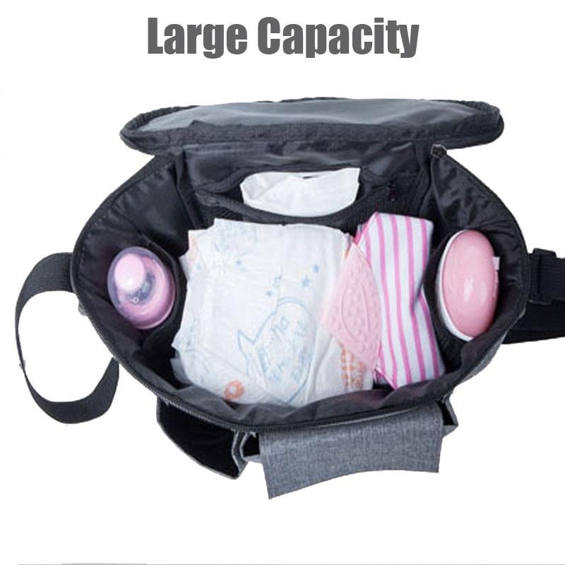 PYETA Novo DošašćeDjefe za bebe Organizator, Dječja torba za mame - Pelene i toaletni trening - Foto 3