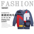 2016 new  boys sweater  Brand cardigan  Baby Kids Sweater  Children 3-12 Years Old Sweater