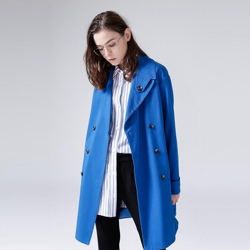 Split Manches De Toyouth Femmes Blue Mujer Décontracté Side 2019 Camisetas Mode D'automne Chemisiers Chemises À Pour Bleu Rayé Longues 0rnRY60