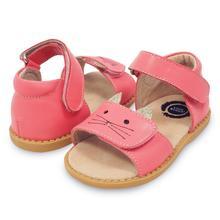 Meninas sandálias nova moda crianças sapatos da criança crianças meninos couro genuíno fechado toes verão estilo do bebê frete grátis