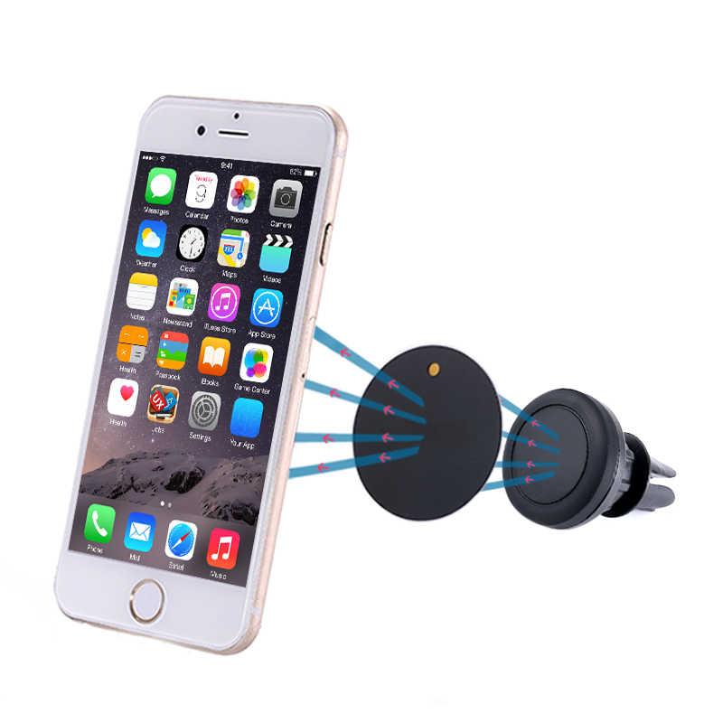 ผู้ถือโทรศัพท์แม่เหล็กสำหรับ Xiaomi Pocophone F1 รถ GPS Air Vent Mount โทรศัพท์มือถือแม่เหล็กสำหรับ iPhone 6 6 s 7 8 9 plus X
