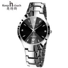 Mano moda Casual Hombres Reloj de Cuarzo Reloj del Calendario de Lujo Negro Relojes de Pulsera de Cuarzo Marca Man Luminoso erkek kol saati