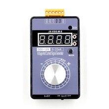 المحمولة 0 5 فولت 0 10 فولت 4 20mA مولد مع شاشة LED عالية الدقة قابل للتعديل تيار مستمر الجهد الحالي إشارة مولد لا بطارية