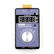 נייד 0 5V 0 10V 4 20mA גנרטור עם LED תצוגה גבוהה דיוק מתכוונן DC הנוכחי מתח אות גנרטור אין סוללה