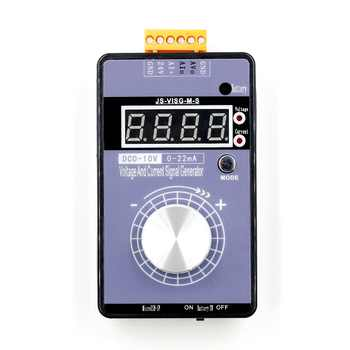 Portable 0-5V 0-10V 4-20mA Generator with LED Display High Precision Adjustable DC Current Voltage Signal Generator No Battery - DISCOUNT ITEM  5 OFF Electronic Components & Supplies