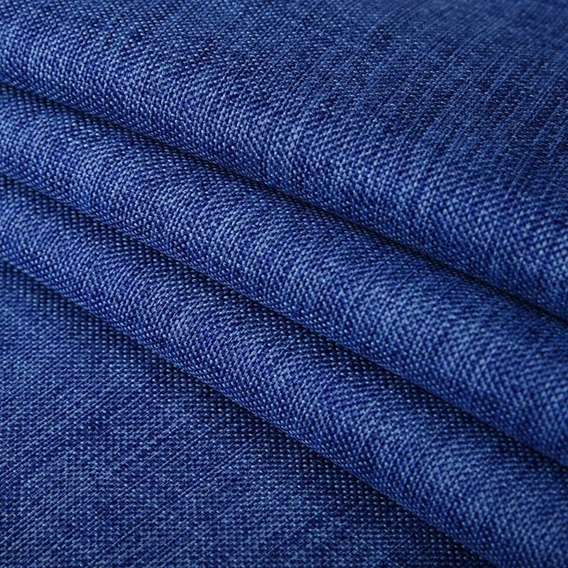 Solid Color Imitation Linen Sofa Fabric Linen Cloth Thin Section Sofa Sets  Tea Seats Manual DIY 1 M Wholesale