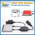 100% Waterproof Newest OEM Xenon HID Headlights Ballast Control Module Ignitor 12V 42W V-Start fast canbus For BMW F10 2008-2011