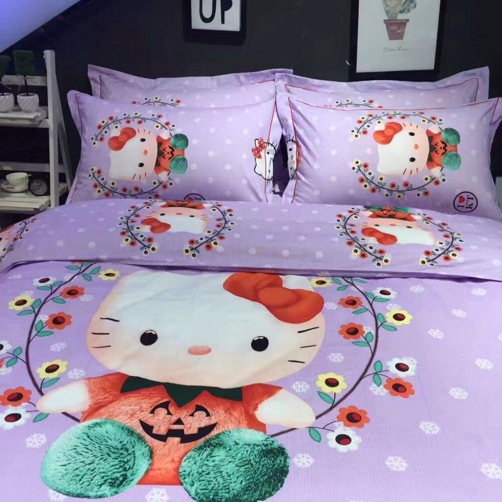 Online kaufen großhandel mädchen lila bettwäsche aus ...