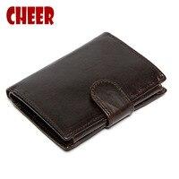 2017 Hot Leather Men S Short 3 Fold Wallet Money Clip Credit Card Knife Multi Bit