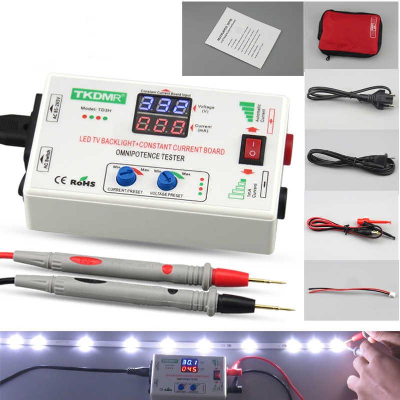 TKDMR 0-330 в Smart-Fit Ручная регулировка напряжения ТВ LED подсветка тестер ток регулируемый постоянный ток доска светодиодная лампа бусина