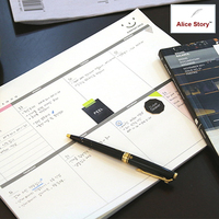 A4 Size Weekly Desk Note Pad Memo Pad Daily