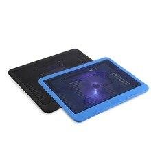 """Кулер для ноутбука охлаждающий вентилятор подставка База USB вентиляторы светодиодный кулер для Macbook Air/Pro для samsung/lenovo/Dell/hp/acer до 1"""" Универсальный"""