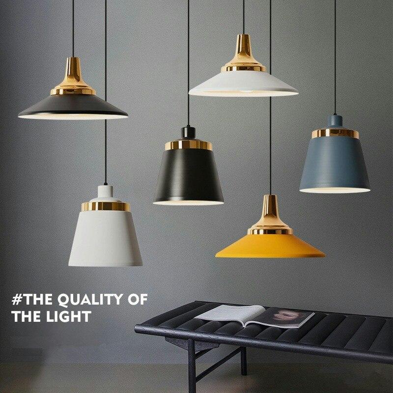 Nordique créatif Macaron Restaurant lustre Art Design chevet salle à manger Cafee décoration lampe luminaires d'intérieur