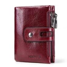 Genuine Leather Men Wallet Model 10