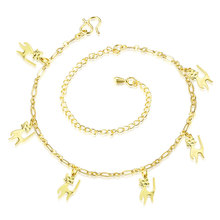 Wholesale New Fashion Women Fine Jewelry Woman Zircon Anklets Bracelet Female Foot Chain YMW-ZD108
