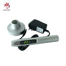 Ручной зарядки УФ-гель отверждения лампы Точечный светильник Высокое качество 365nm ультрафиолетовая вспышка светильник светодиодный светильник экран loca Клей лечение