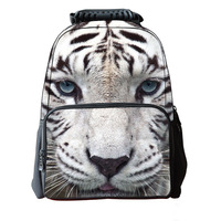Men Women Unisex 3D Animals Printing Children School Backpacks College Students Bagpack Women Men's Travel Backpack Cat Mochila